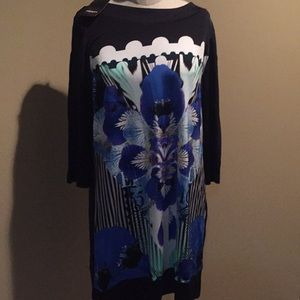 Oleson printed dress